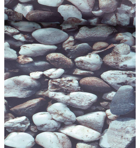 ROCKS PHOTOPRINT FABRIC Grey