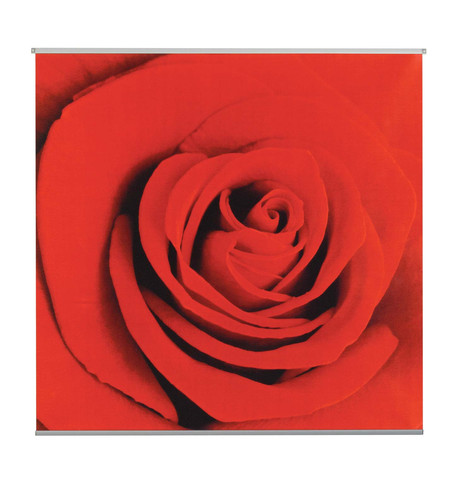 SCARLET TEXTILE POSTER KIT Red