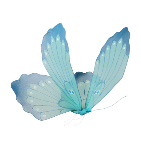 NET BUTTERFLY - TURQUOISE Turquoise