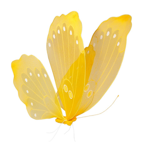 NET BUTTERFLY - YELLOW  Yellow