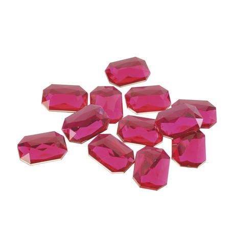 RECTANGULAR PINK TOPAZ Pink Topaz