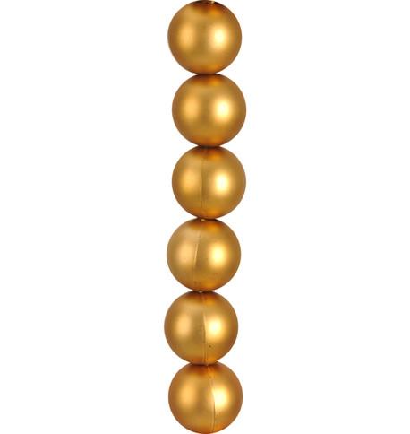 MATT BAUBLE GARLAND - GOLD Gold