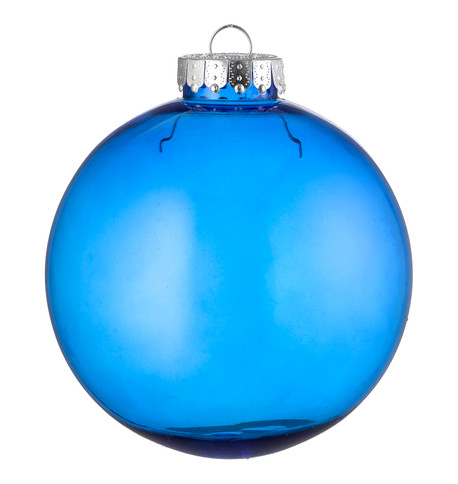 CLEAR BAUBLES - BLUE Blue
