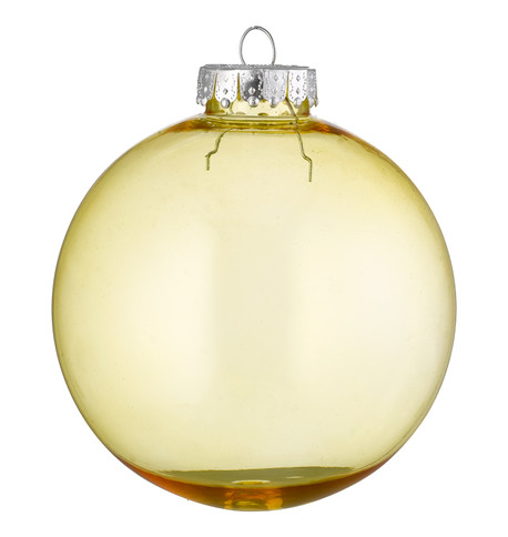 CLEAR BAUBLES - YELLOW Yellow
