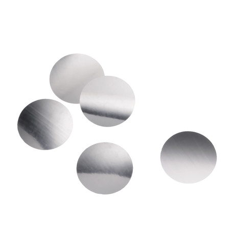 GIANT SEQUINS - SILVER Silver