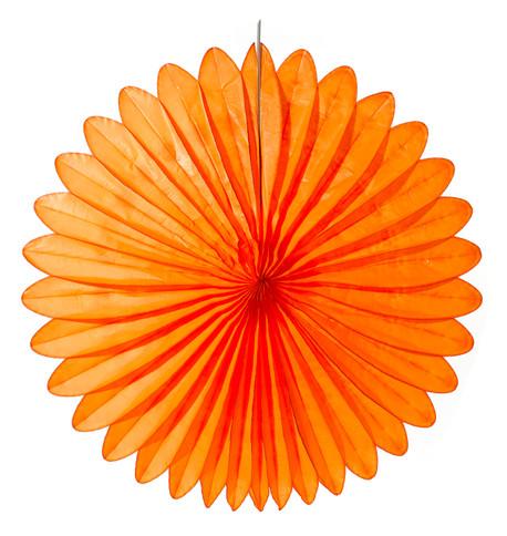 FLOWER FAN - ORANGE Orange