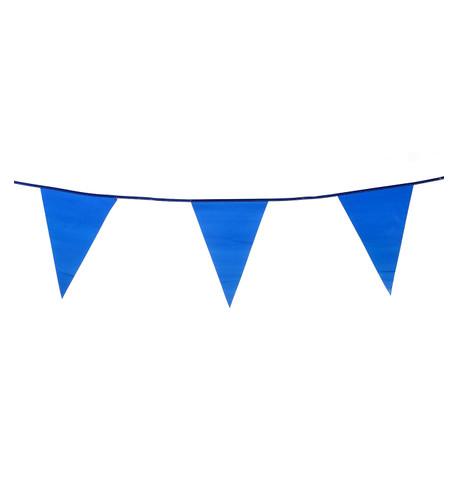 PVC BUNTING - BLUE Blue