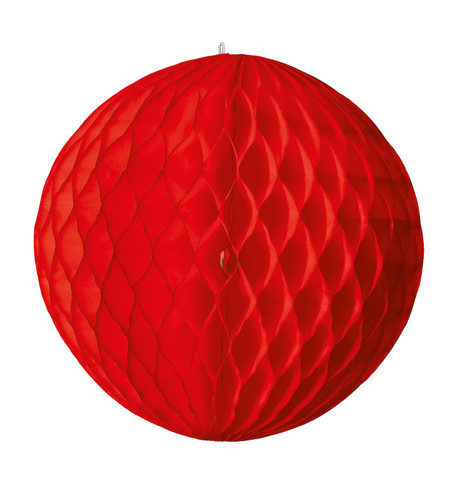 PAPER BALL - RED Red