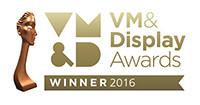 WINNER VM&D AWARDS 2016