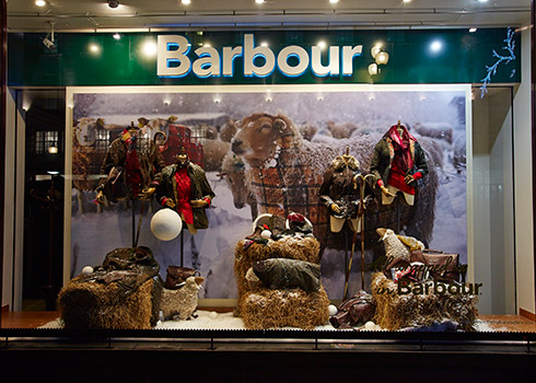 Barbour All wrapped up in Barbour - Small Image 1