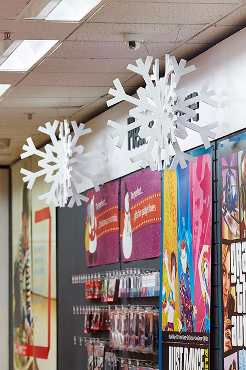 Argos Hanging snowflakes - Image 3