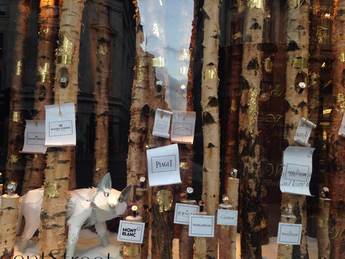 There's a trend for silver birch this Christmas