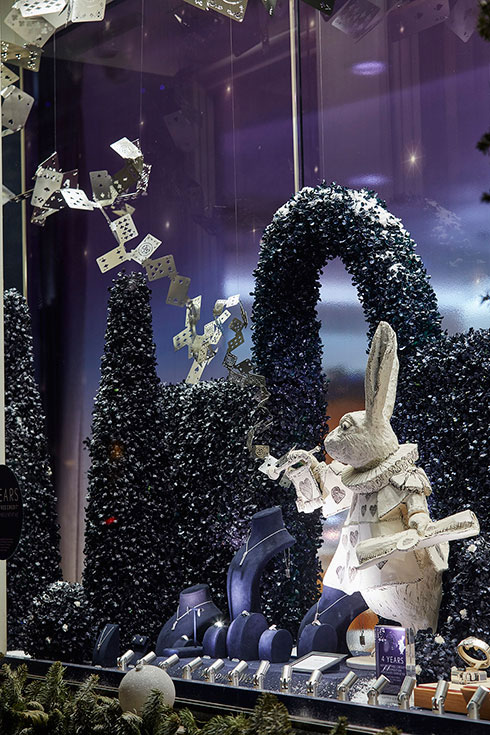 Mappin & Webb Alice in Wonderland Anniversary Windows - Image 6