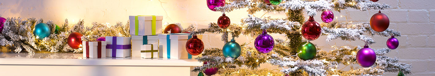 Christmas Decorations for Retail Displays
