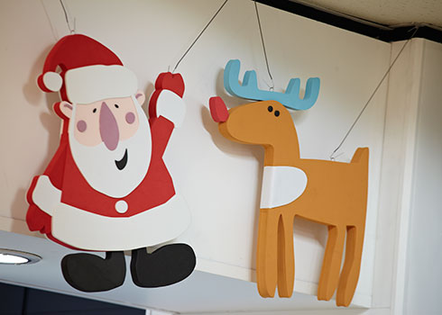 Argos Santa, Rudloph and gifts - Small Image 1