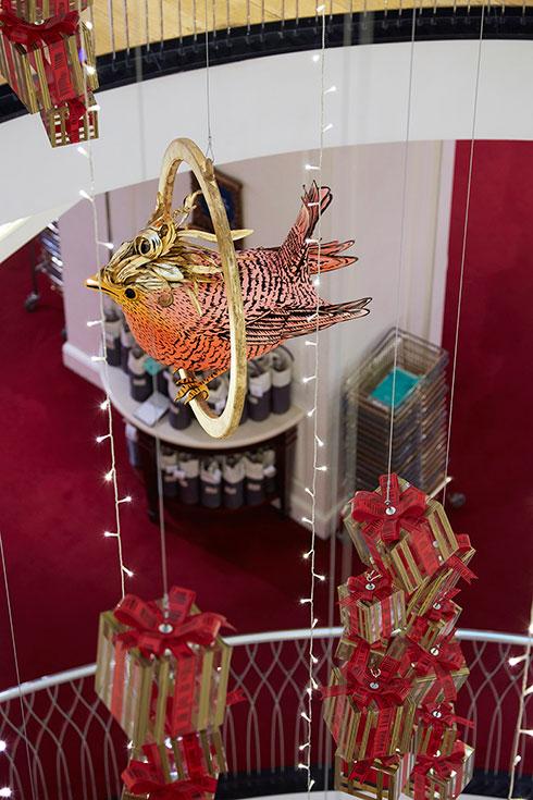 Fortnum & Mason Christmas Atrium 2015 - VM&D AWARDS FINALIST 2016 - Image 9