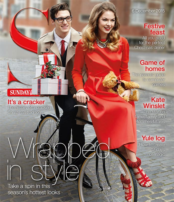 S Magazine - Wrapped in Style