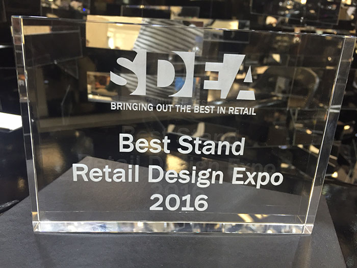 Retail Design Expo 2016 - Best Stand WINNERS!!!