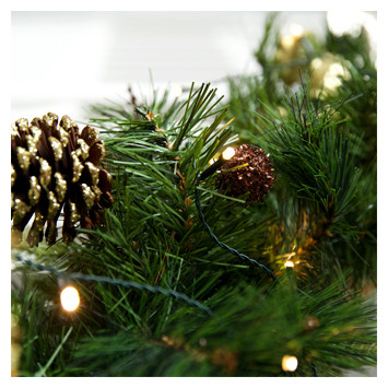 luxury garlands view all pro series christmas lights