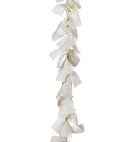 RAG GARLAND - CREAM Cream