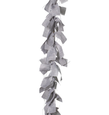 RAG GARLAND - GREY Grey