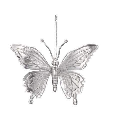 BUTTERFLY METALLIC - SILVER Silver