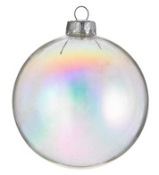 BAUBLE CLEAR - PEARL - Iridescent