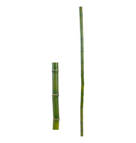 FAUX BAMBOO POLE - GREEN Green