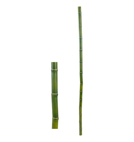 FAUX BAMBOO POLE - GREEN Green