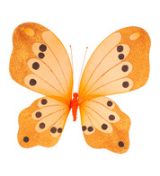 BUTTERFLY GLITTERED - ORANGE - Orange