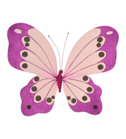 BUTTERFLY GLITTERED - PURPLE - Purple