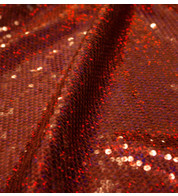 GLAMOUR - RED HOLOGRAPHIC - Red