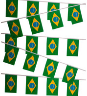 BRAZIL FLAG BUNTING - Multicolour