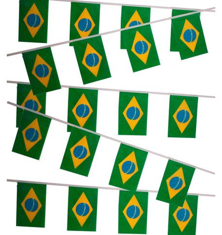 BRAZIL FLAG BUNTING Multi