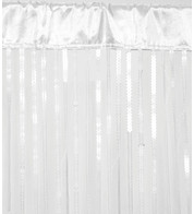 HOLLYWOOD CURTAIN - WHITE - White