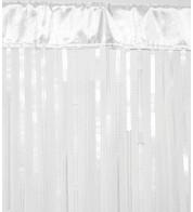 HOLLYWOOD CURTAIN - WHITE - White