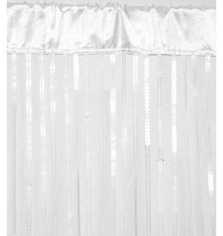HOLLYWOOD CURTAIN - WHITE White