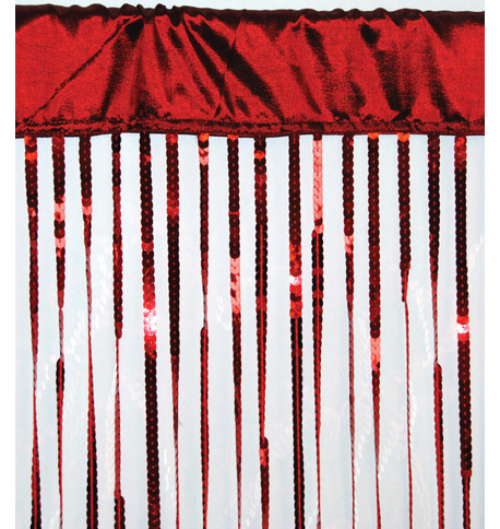 HOLLYWOOD CURTAIN - RED Red