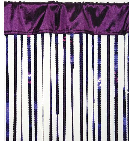 HOLLYWOOD CURTAIN - PURPLE Purple