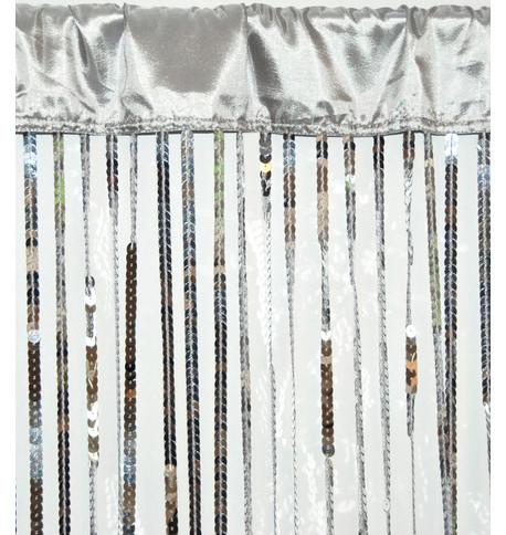 HOLLYWOOD CURTAIN - SILVER Silver