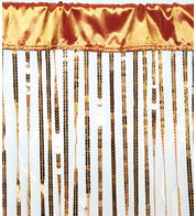 HOLLYWOOD CURTAIN LARGE - GOLD - Gold