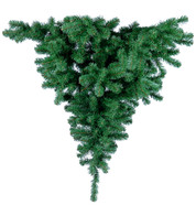 UPSIDE DOWN HANGING CHRISTMAS TREE - Green