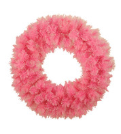PINK CASHMERE WREATH - Pink