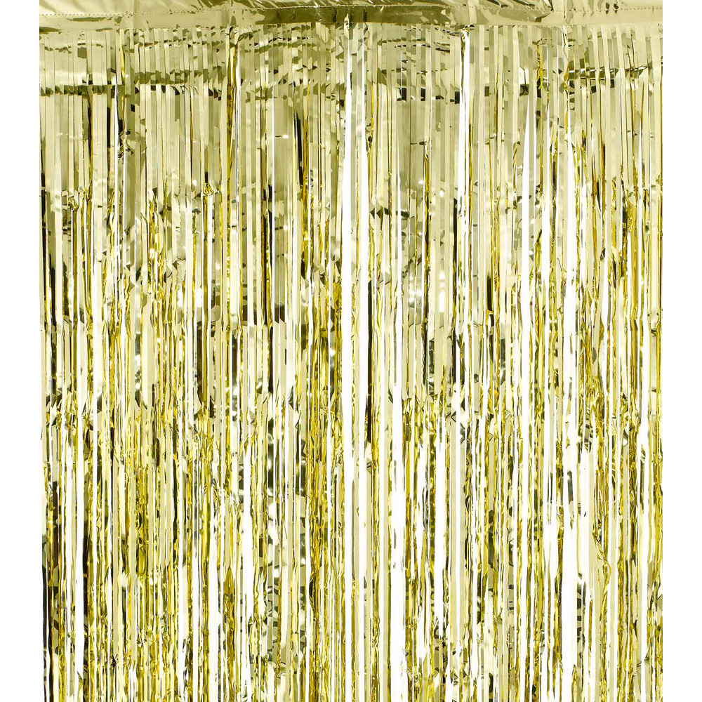 Beautiful SHIMMER CURTAINS - GOLD | DZD OT24