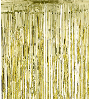 SHIMMER CURTAINS - GOLD - Gold