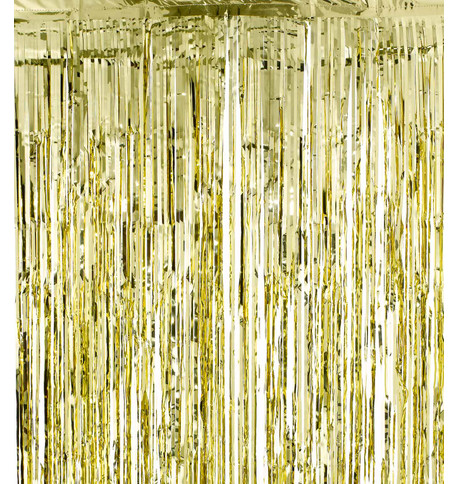 SHIMMER CURTAINS - GOLD Gold