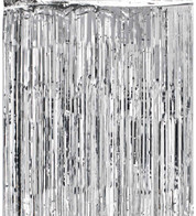 SHIMMER CURTAINS - SILVER - Silver