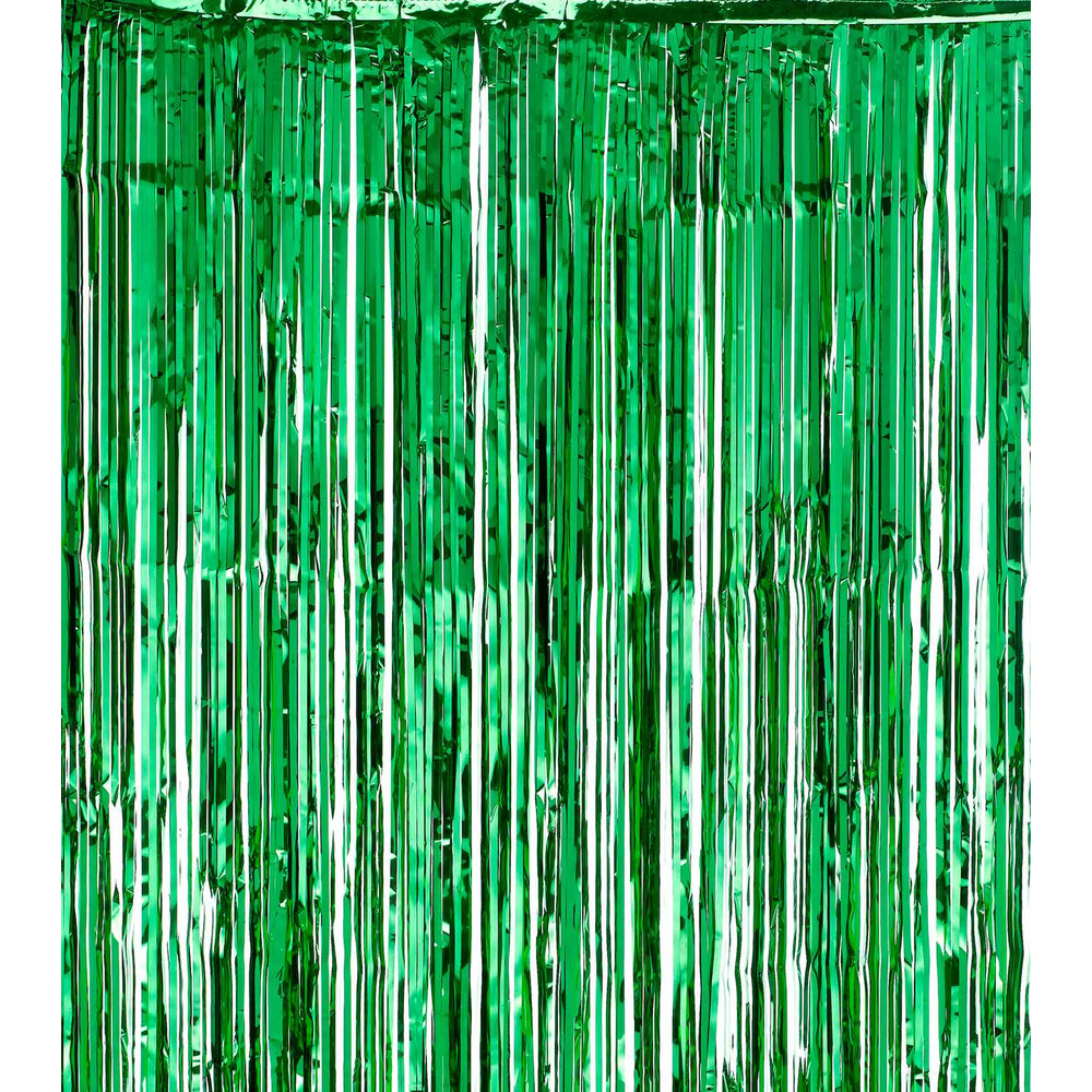 SHIMMER CURTAINS   GREEN Green. Loading Zoom