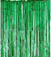 SHIMMER CURTAINS - GREEN - Green