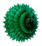 PAPER PETAL BALL - GREEN - Green
